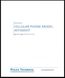 Model Affidavit