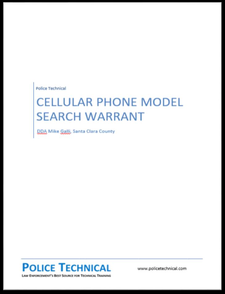Model Warrant